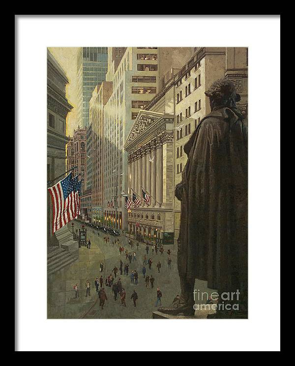 Wall Street 1 by Gary Kim