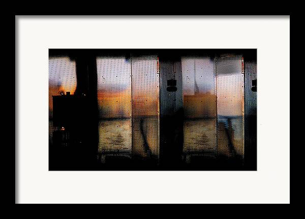 Digital Photography Framed Print featuring the photograph Wall by Tony Wood