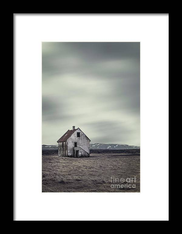 Kremsdorf Framed Print featuring the photograph Walls Of Desolation by Evelina Kremsdorf