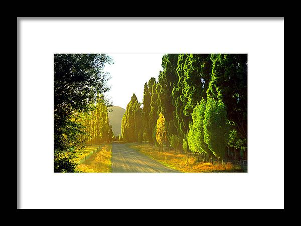Wanaka Framed Print featuring the photograph Wanaka Morning Light by Kevin Smith