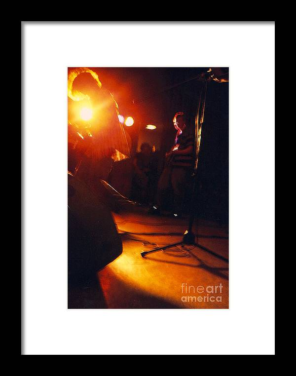 Rock Framed Print featuring the photograph Wanna Be Rock Star by Simonne Mina