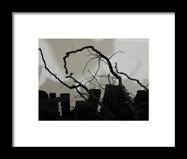 Framed Print featuring the photograph War by Michael Raiman