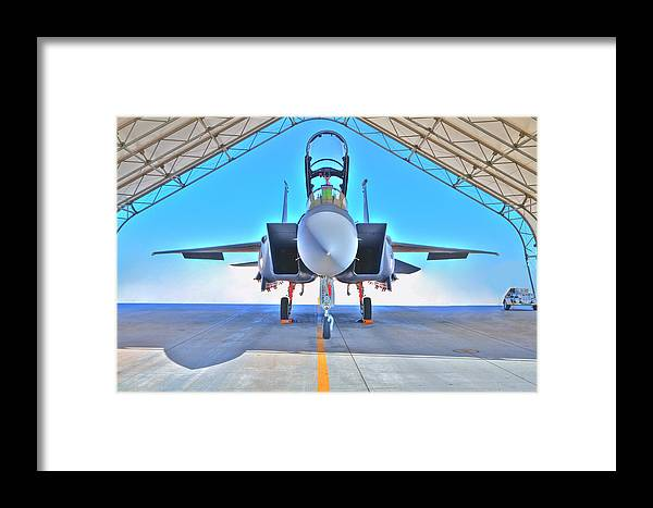 F-15 Framed Print featuring the photograph Warbird by Paul Owen