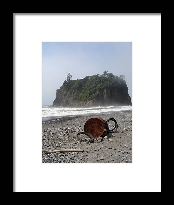 Nature Framed Print featuring the photograph Washed Up by Ty Nichols