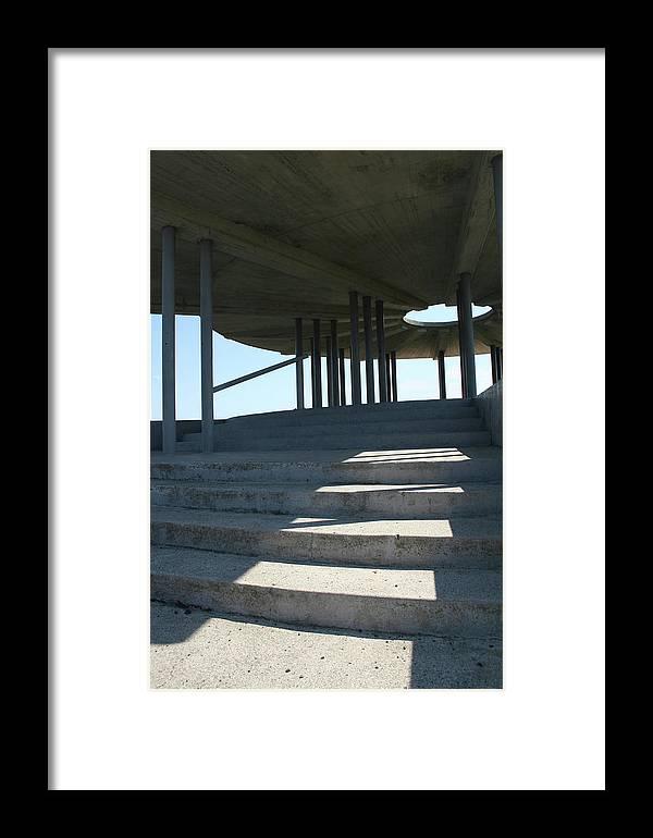Washington Dam Pavilion Framed Print featuring the photograph Washington Dam Pavilion by Dylan Punke