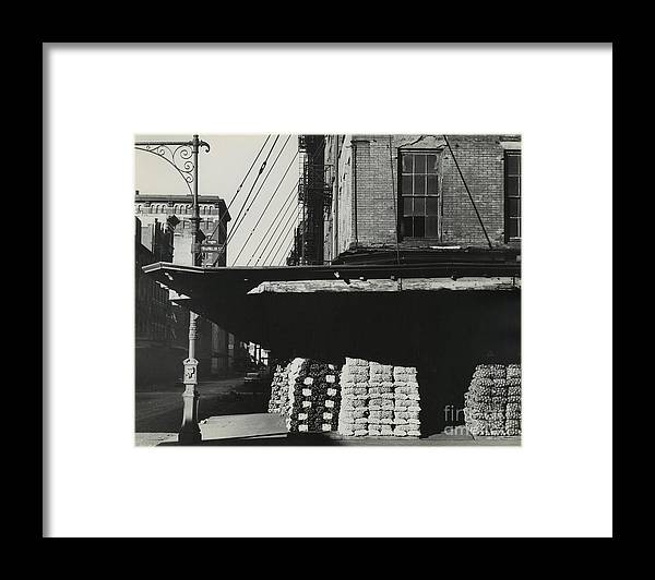 Erik Falkensteen Framed Print featuring the photograph Washington Market by Erik Falkensteen