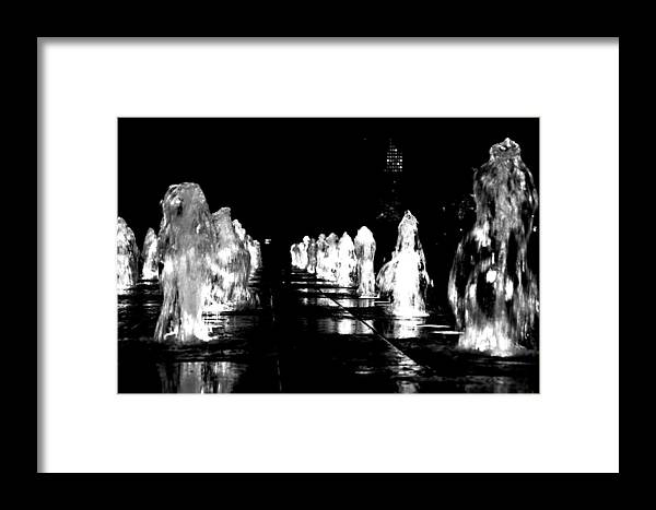 City Hall Framed Print featuring the photograph Water Angels by Andrew Dinh