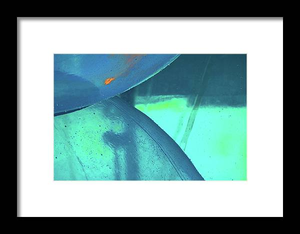 Framed Print featuring the photograph Water Ball by Michael Raiman