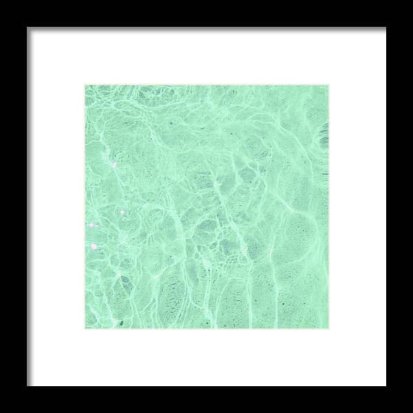 Water Framed Print featuring the photograph Water by Cassia Beck