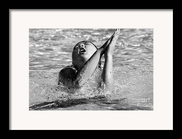 People Framed Print featuring the photograph Water Prayer 2009 by Michael Ziegler
