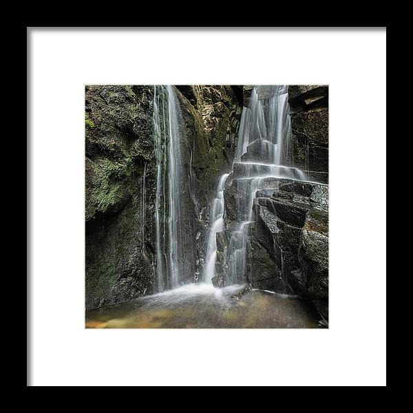 Water Framed Print featuring the photograph Water Threads by Rod Wiens