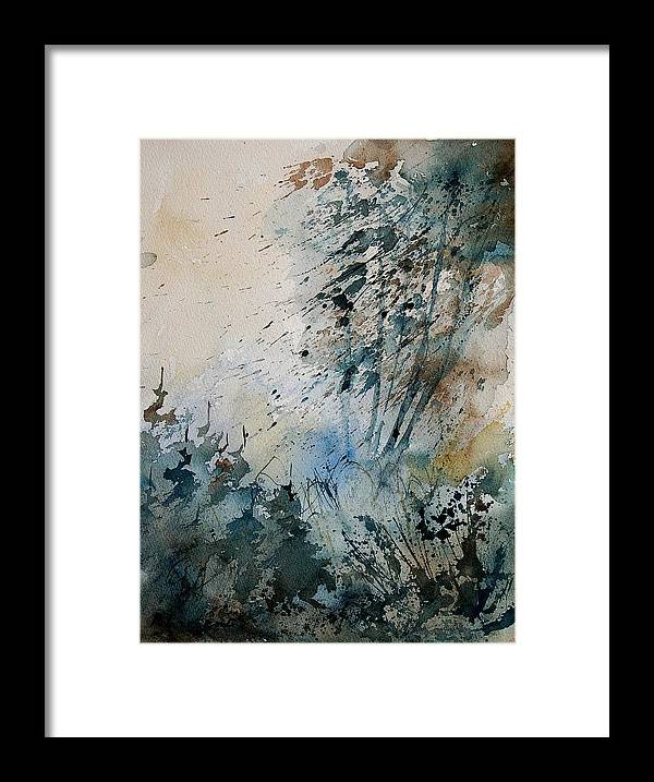 Tree Framed Print featuring the painting Watercolor 148708 by Pol Ledent