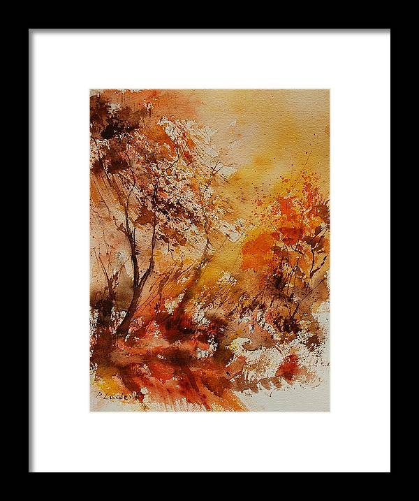 Tree Framed Print featuring the painting Watercolor 903071 by Pol Ledent