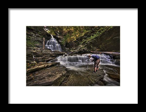 Camera Framed Print featuring the photograph Waterproof by Evelina Kremsdorf