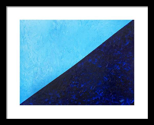 Impasto Framed Print featuring the painting Water's Edge by JoAnn DePolo