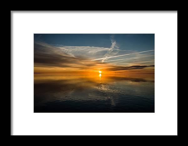 South Shore Framed Print featuring the photograph Waters Reflection by Susan Knappe