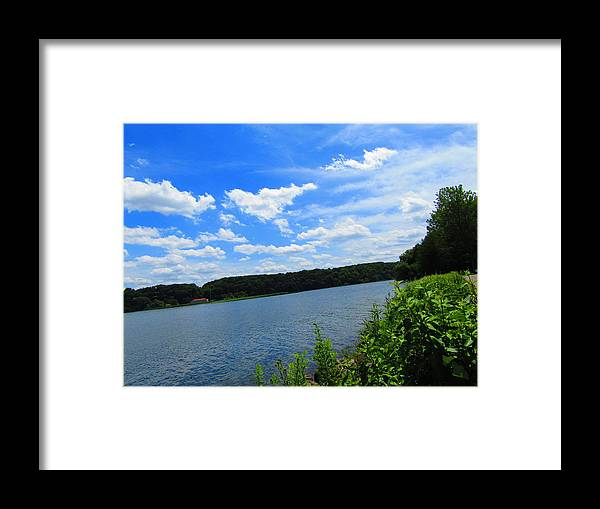Photography Framed Print featuring the photograph Water's Touch by Jenna Graham
