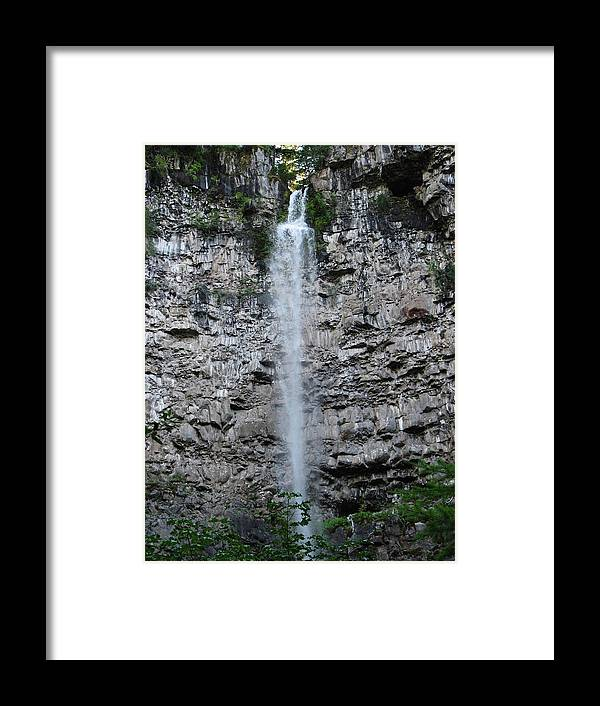 Rock Framed Print featuring the photograph Watson Falls by Teri Schuster