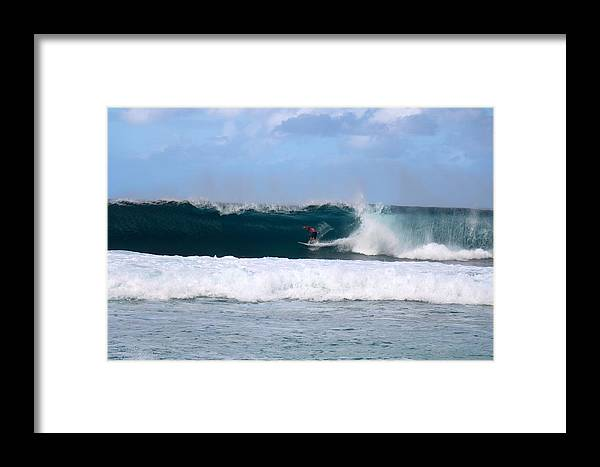 Wave Framed Print featuring the photograph Wave Magnet by Benen Weir