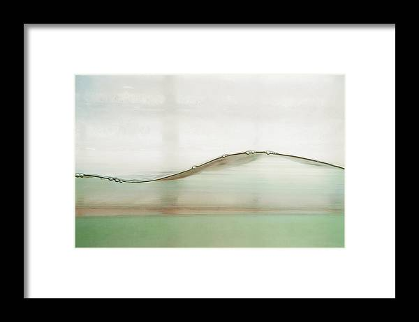 Water Framed Print featuring the photograph Wave by Scott Norris
