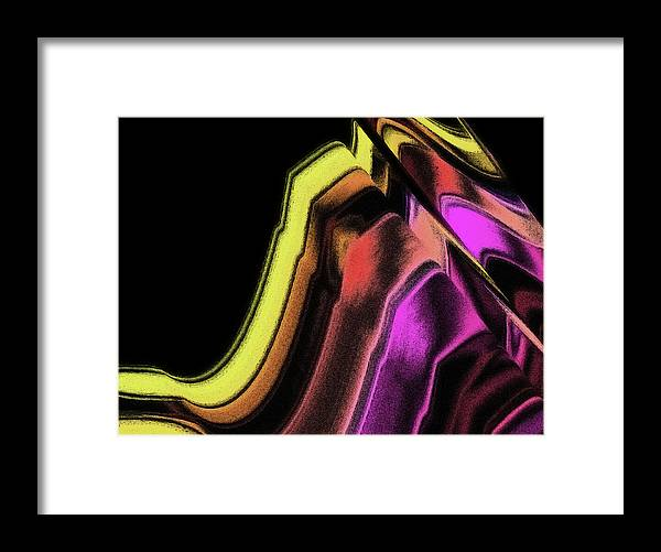 Light Framed Print featuring the painting Wavelength by Susan Maxwell Schmidt