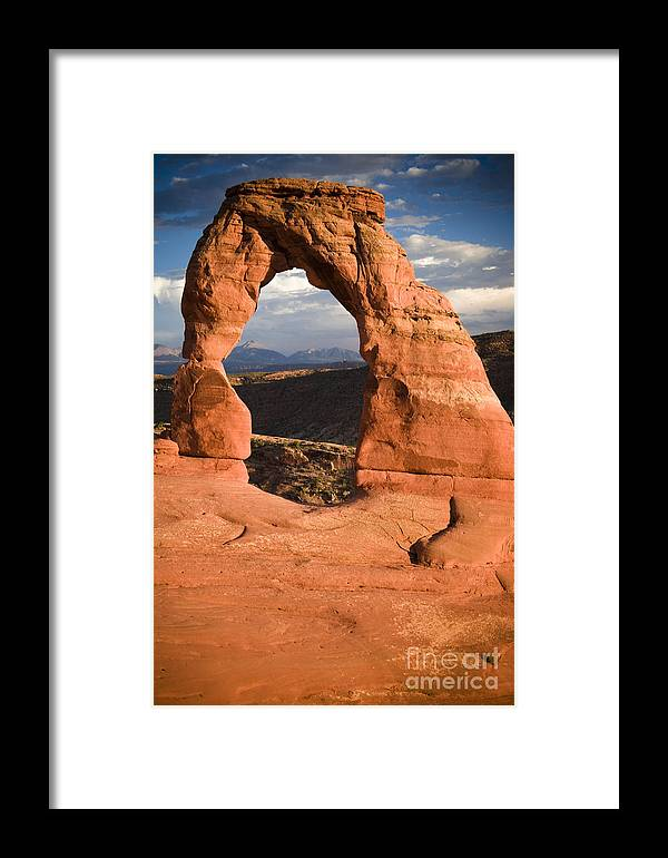Utah Framed Print featuring the photograph Way Of Delicate Arch by Joshua Francia