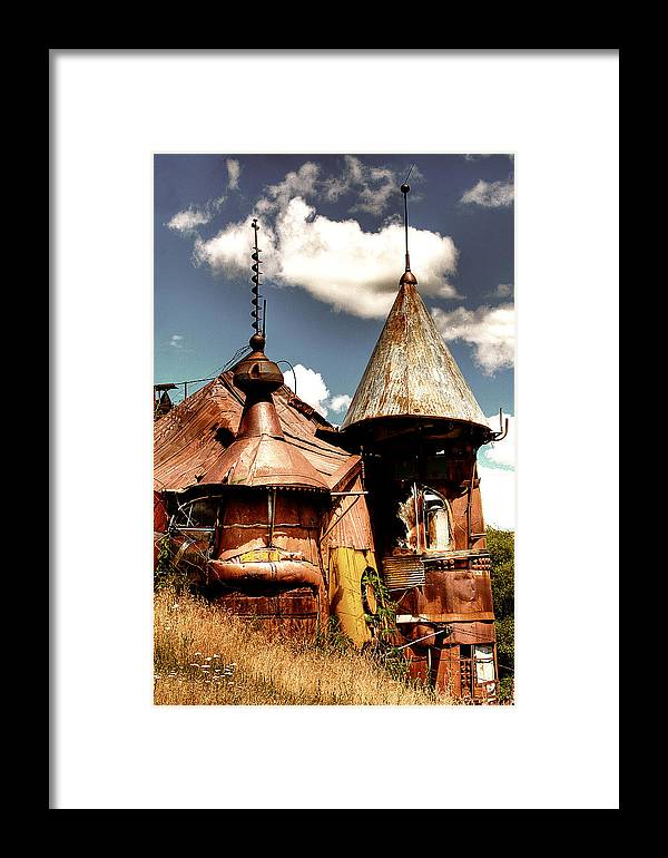 Junk Castle Framed Print featuring the photograph We Are Not In Kansas Anymore II by David Patterson