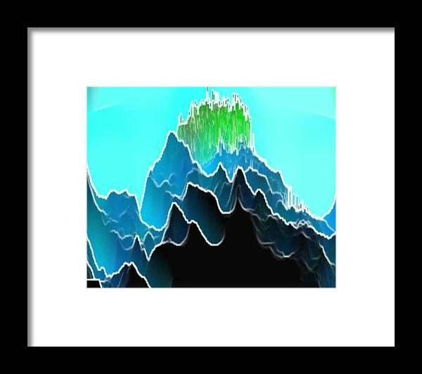 Mountins Framed Print featuring the digital art We Listen. by Dr Loifer Vladimir