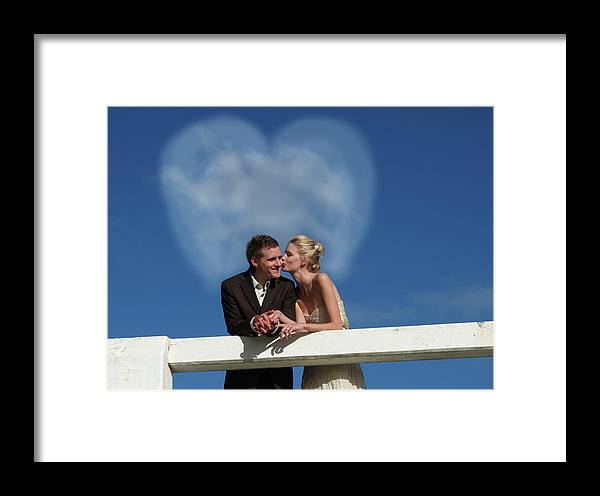 Groom Framed Print featuring the photograph Wedding 7 by Elisabeth Dubois