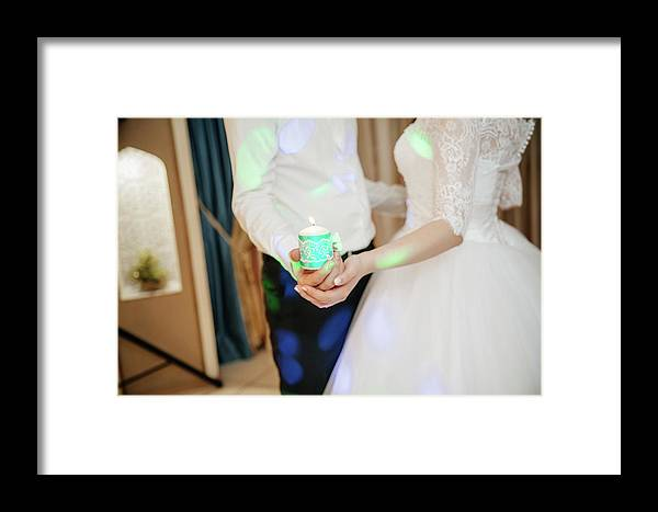 Kzn City Framed Print featuring the photograph Wedding by Artvid