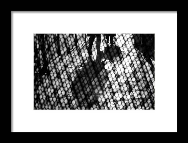 Black And White Framed Print featuring the photograph Wednesday In Paris by Sophia Pagan