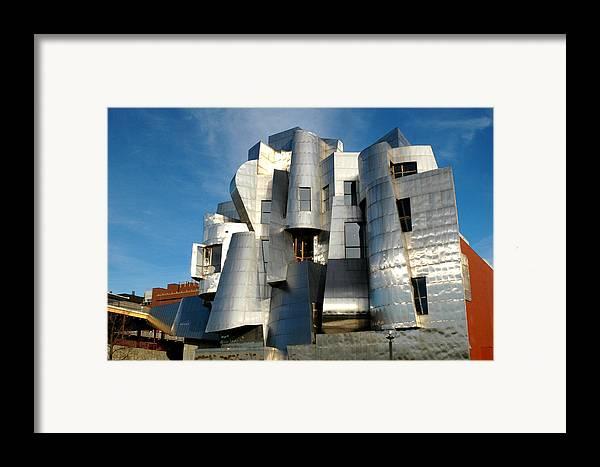 Museum Framed Print featuring the photograph Weisman Art Museum by Kathy Schumann