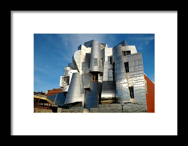 Museum Framed Print featuring the photograph Weisman Art Museum by Kathy Schumann