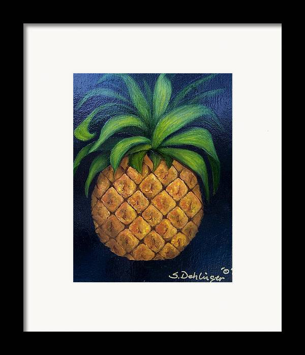 Still Life Framed Print featuring the painting Welcome    by Susan Dehlinger