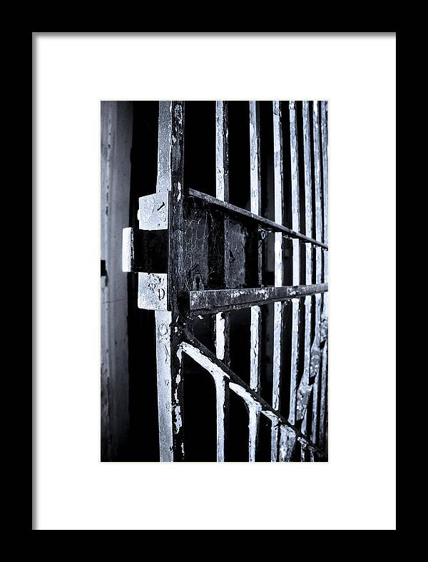 Door Framed Print featuring the photograph Welcome by Kelly Jade King