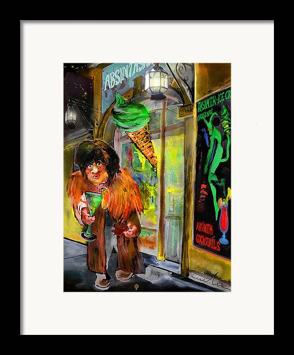 Czech Republic Framed Print featuring the painting Welcome To The Czech Republic 02 by Miki De Goodaboom