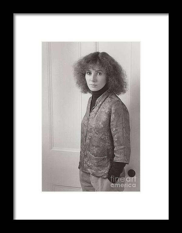 Portrait Framed Print featuring the photograph Wendy #2 by Lionel F Stevenson