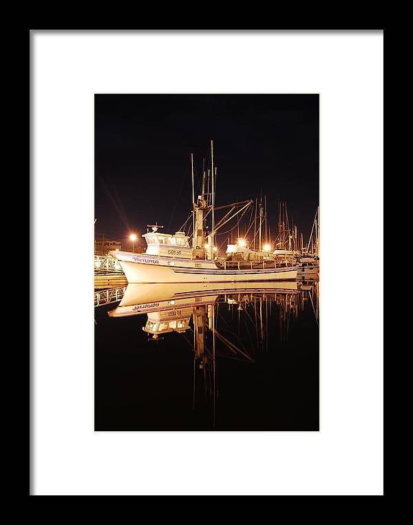 Fishing Framed Print featuring the photograph Wenona by Alasdair Turner
