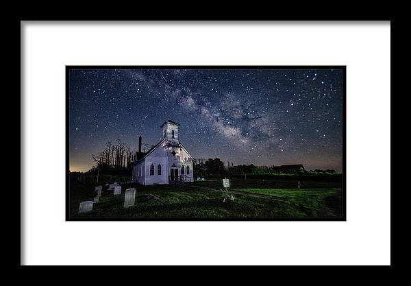 Maryland Framed Print featuring the photograph Wesley Chapel by Robert Fawcett
