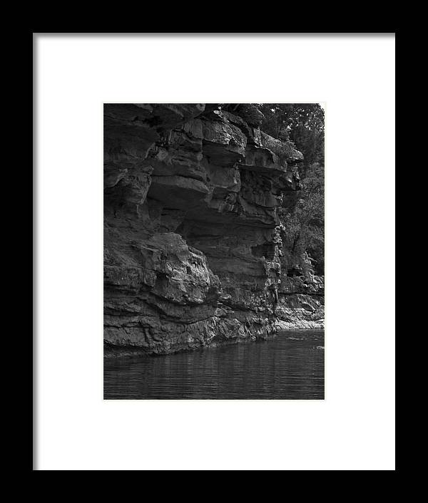 Framed Print featuring the photograph West-fork White River by Curtis J Neeley Jr
