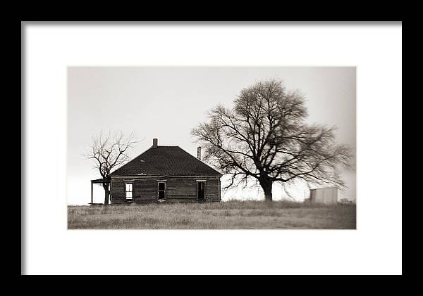 Texas Framed Print featuring the photograph West Texas Winter by Marilyn Hunt