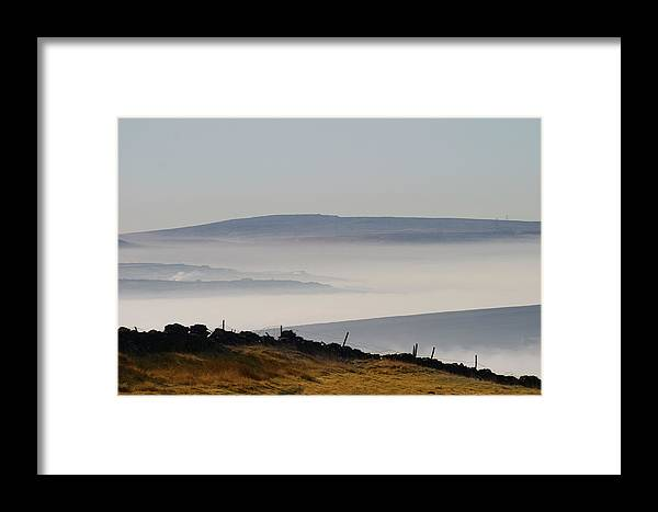Moors Framed Print featuring the photograph West Yorkshire Moors 1 by Brian Middleton