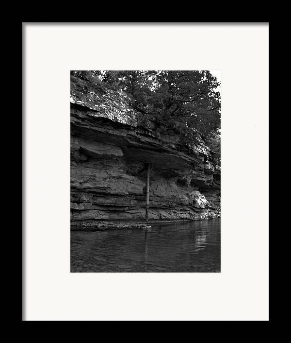 Framed Print featuring the photograph Westforkwhiteriver-bw by Curtis J Neeley Jr
