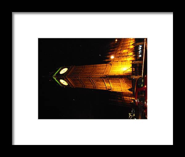 Big Ben Framed Print featuring the photograph Westminster Abbey by Patricia Russell