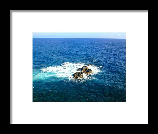 Coast Framed Print featuring the photograph Whale Watcher by Charles Jennison