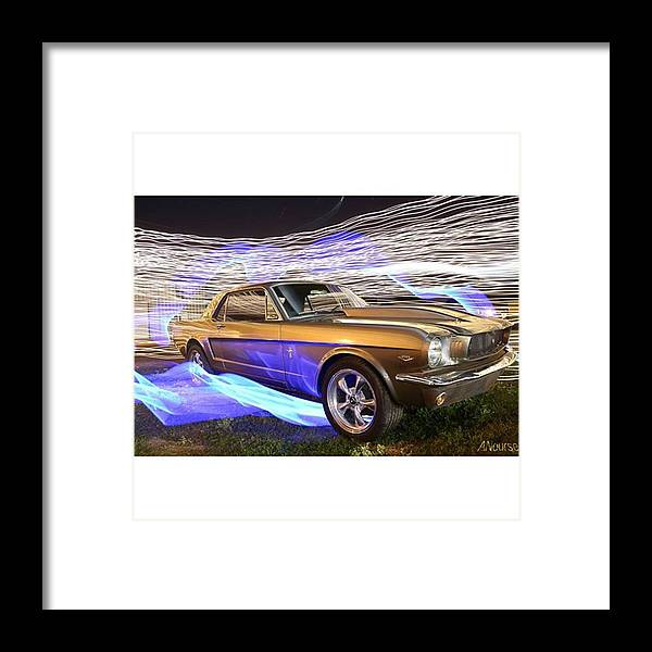 Likesforlikes Framed Print featuring the photograph What A Beauty! Just Look At Those by Andrew Nourse