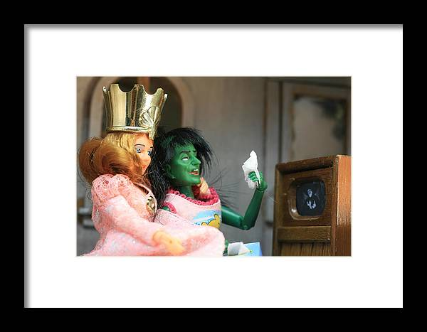 Wizard Of Oz Framed Print featuring the photograph What Friends Are For by Susie DeZarn