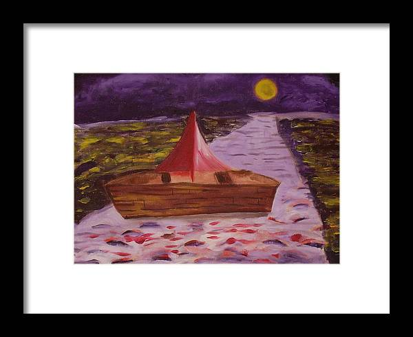 Framed Print featuring the painting What Is Traditional by Joseph Arico