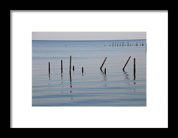 Water Framed Print featuring the photograph What Once Was by Laura Martin