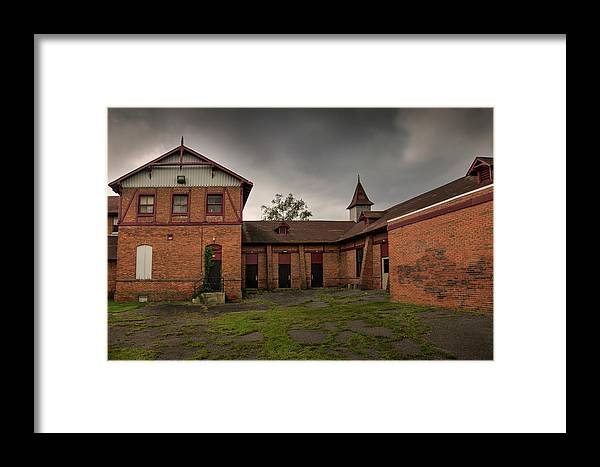 Central Islip Framed Print featuring the photograph What Once Was by Steve Gravano